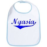Nyasia Vintage (Blue) Bib