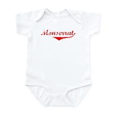Monserrat Vintage (Red) Infant Bodysuit