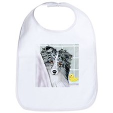 Bi Blue Sheltie Bath Bib