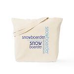 Snowboarder Winter Sport Tote Bag