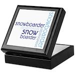 Snowboarder Winter Sport Keepsake Box