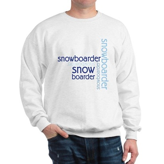 Snowboarder Winter Sport Sweatshirt