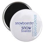Snowboarder Winter Sport Magnet