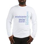 Snowboarder Winter Sport Long Sleeve T-Shirt