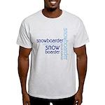 Snowboarder Winter Sport Light T-Shirt