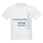 Snowboarder Winter Sport Kids Light T-Shirt