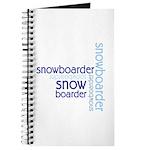 Snowboarder Winter Sport Journal