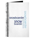 Snowboarder Winter Sport Journal