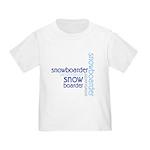 Snowboarder Winter Sport Toddler T-Shirt