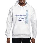 Snowboarder Winter Sport Hooded Sweatshirt