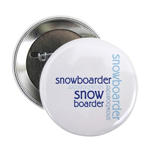 "Snowboarder Winter Sport 2.25"" Button (10 pack)"
