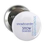 """Snowboarder Winter Sport 2.25"""" Button"""