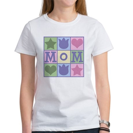 Fun Mom Quilt Squares Women's T-Shirt