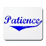Patience Vintage (Blue) Mousepad