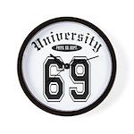 University Wall Clock