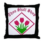Thou Shalt Throw Pillow