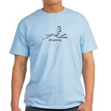 Off-Gassing Cartoon Scuba Diver T-Shirt