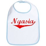 Nyasia Vintage (Red) Bib