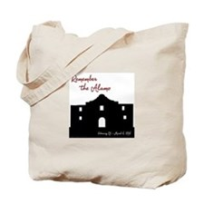 Remember the Alamo Tote Bag