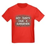 Hug a Gardener Kids Dark T-Shirt