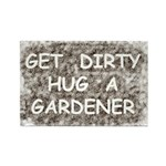 Hug a Gardener Rectangle Magnet (10 pack)