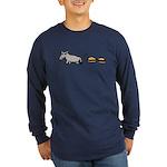 Assburgers Long Sleeve Dark T-Shirt
