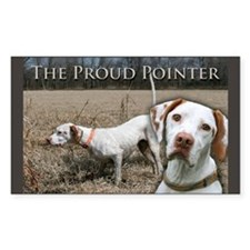 """Proud Pointer"" Rectangle Decal"