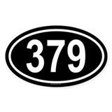 379 Oval Decal