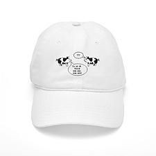 Schweine (black/white) Baseball Cap