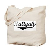 Taliyah Vintage (Black) Tote Bag