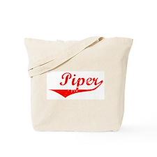 Piper Vintage (Red) Tote Bag