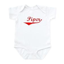 Piper Vintage (Red) Infant Bodysuit