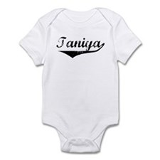 Taniya Vintage (Black) Infant Bodysuit