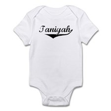 Taniyah Vintage (Black) Infant Bodysuit