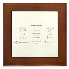 Maxwell's Equations Framed Tile