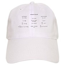 Maxwell's Equations Baseball Cap