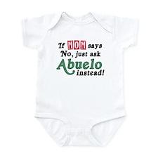 Just Ask Abuelo! Baby Onesie