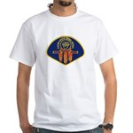 Cache Creek Police White T-Shirt