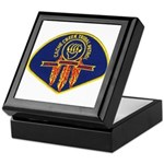 Cache Creek Police Keepsake Box