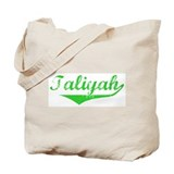 Taliyah Vintage (Green) Tote Bag