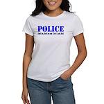 Hook'em Police Women's T-Shirt
