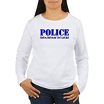 Hook'em Police Women's Long Sleeve T-Shirt