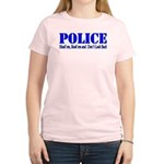 Hook'em Police Women's Light T-Shirt