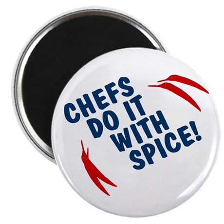 Chefs Do It With Spice Magnet