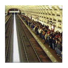 DC Metro Tile Coaster