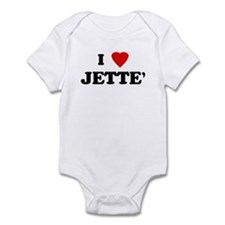 I Love JETTE' Infant Bodysuit