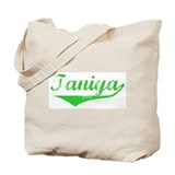 Taniya Vintage (Green) Tote Bag