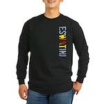 eSwatini Stamp Long Sleeve Dark T-Shirt