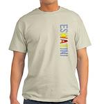 eSwatini Stamp Light T-Shirt