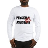 Off Duty Physician Assistant Long Sleeve T-Shirt